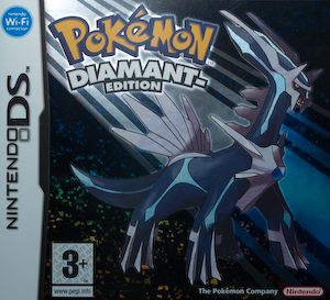 Austrian Pokémon Diamond packshot