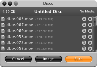Disco.app is sorting files in mysterious ways