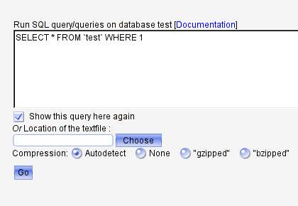 Query field